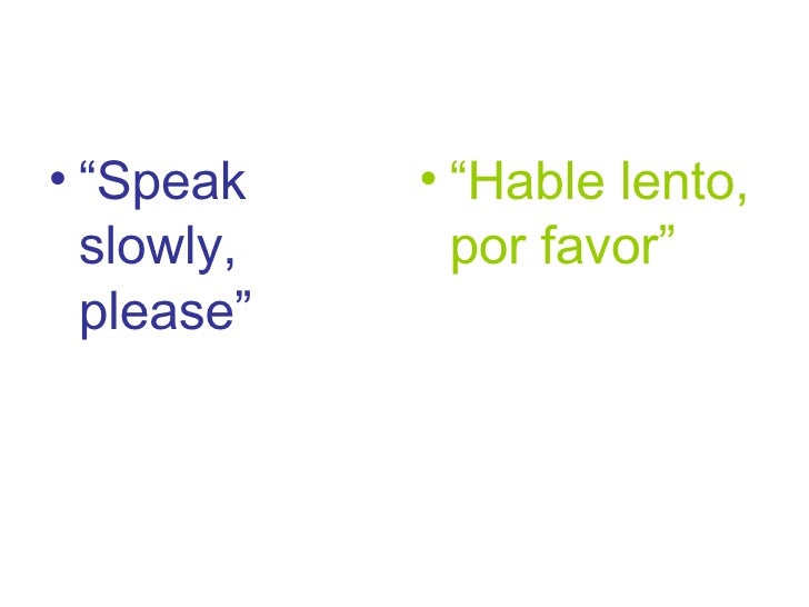 EFL survival expressions for Spanish students 4
