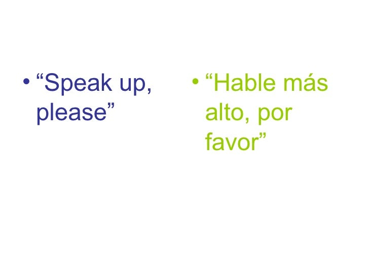 EFL survival expressions for Spanish students 7