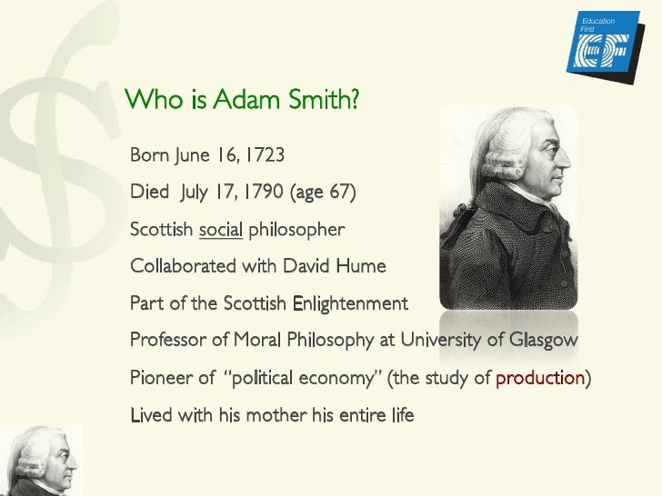 a biography of adam smith