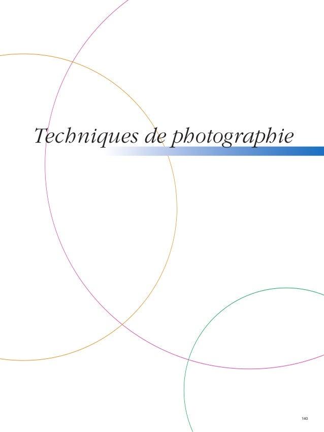 Techniques de photographie  140