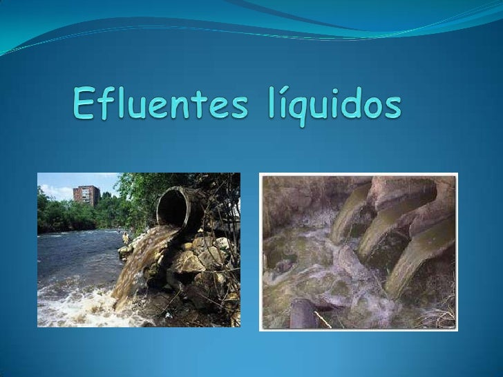 Efluentes líquidos<br />
