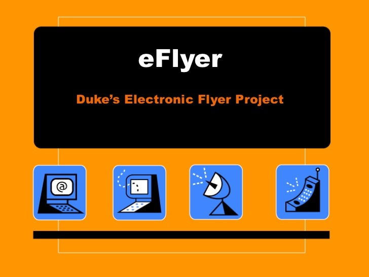 eFlyer Duke's Electronic Flyer Project