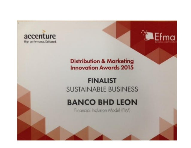 accenture  lliqii [K'IIL>fVVl. tIkY Dcintrtd      Distribution 8: Marketing Innovation Awards 2015  FINALIST SUSTAINABLE B...