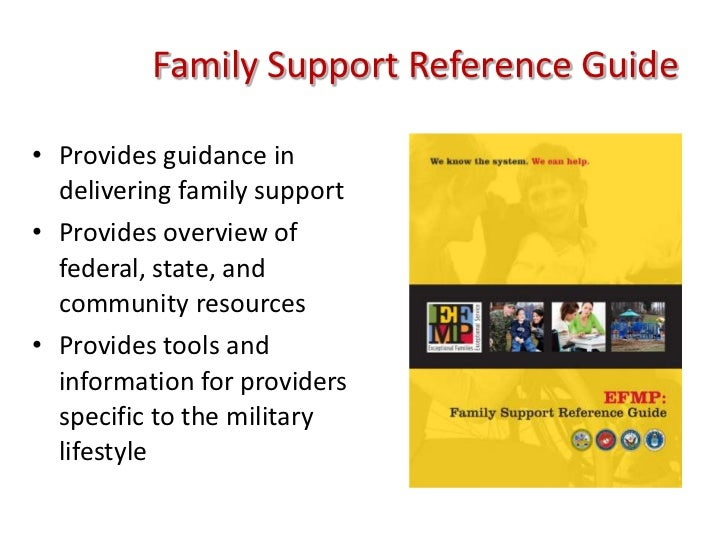 Efmp products 4 family support reference guidebr sciox Image collections