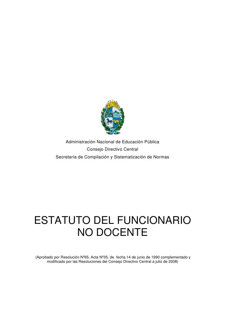 Administración Nacional de Educación Pública                             Consejo Directivo Central            Secretaría d...