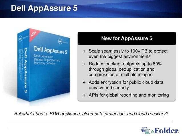 Dell AppAssure 5                                             New for AppAssure 5                                       Sca...