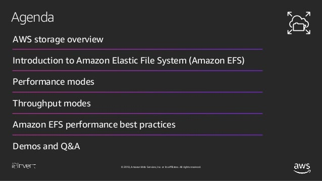EFS Performance: Maximizing Performance for Linux/Unix File Systems (…