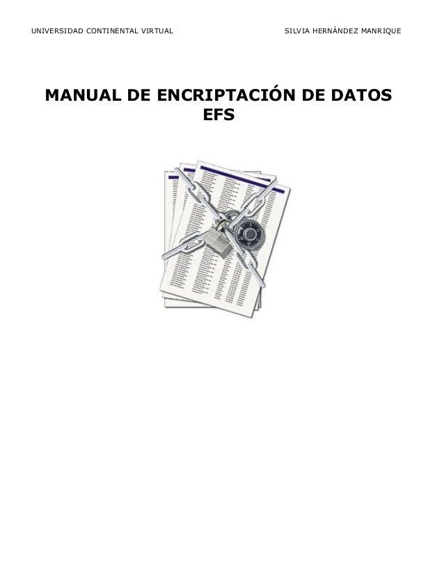 Manual EFS