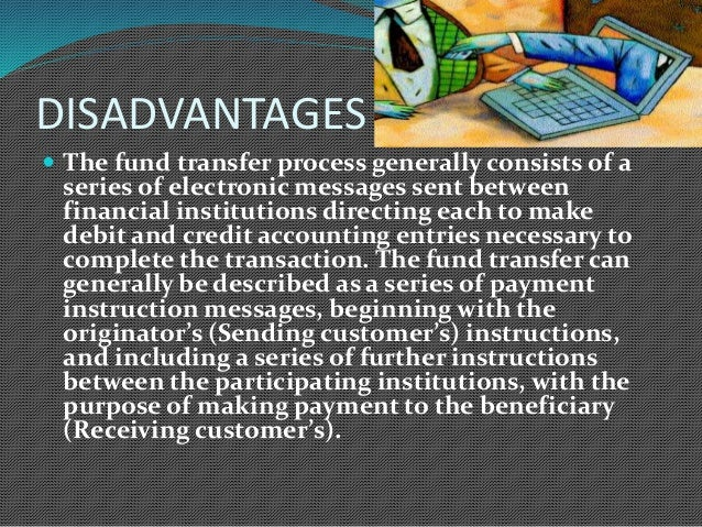 electronic fund transfer Learn about what electronic funds transfer is and all the ways you may use it in your daily life find out how the process differs from the older.