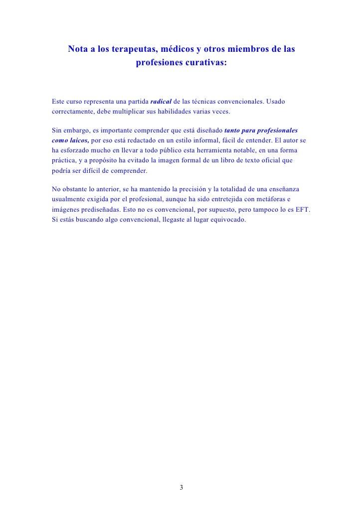 tecnicas de liberacion emocional pdf
