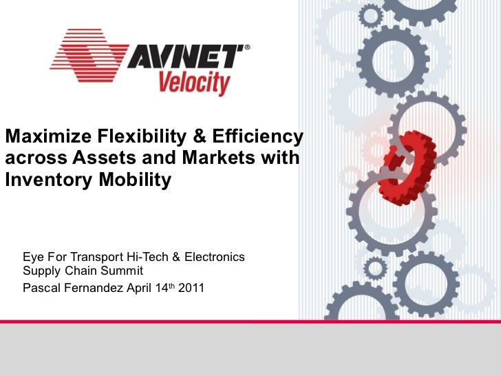Maximize Flexibility & Efficiency across Assets and Markets with Inventory Mobility Eye For Transport Hi-Tech & Electronic...