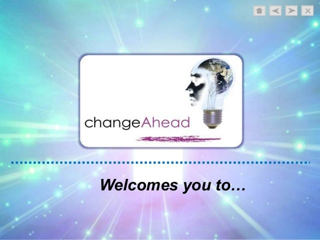 Penny Croal/ ChangeAhead Welcomes you to…