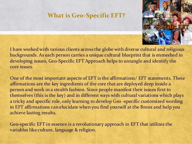 Geo-Specific EFT Training Overview Slide 3