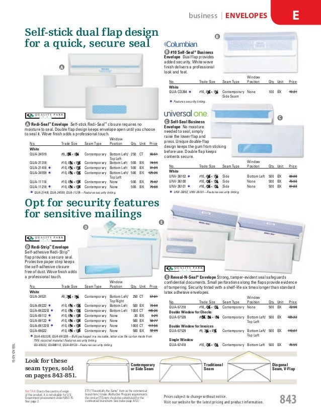 "NEW Kraft Envelopes #14  5/"" x 11 1//2/"" 28 lb Quality Park 11562 25"