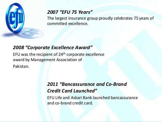 Efu general insurance Ltd. Pakistan