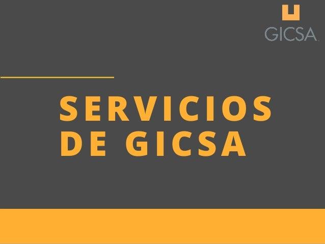 SERVICIOS DE�GICSA