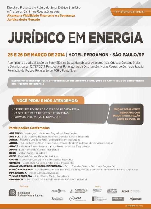 Discuta o Presente e o Futuro do Setor Elétrico Brasileiro e Analise os Caminhos Regulatórios para Alcançar a Viabilidade ...