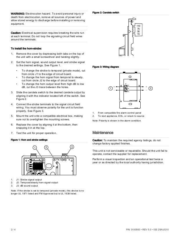 Edwards Signaling Eg1rf Hdvm Installation Manual