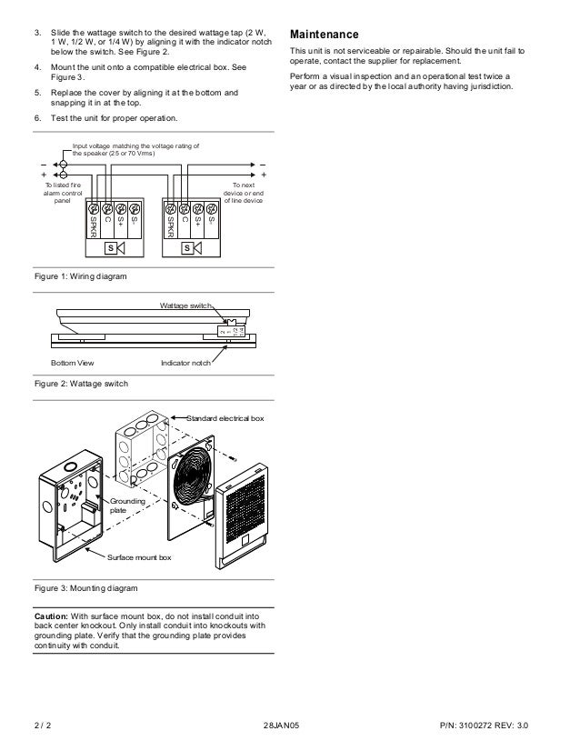 Edwards Signaling EG4F-S7 Installation Manual