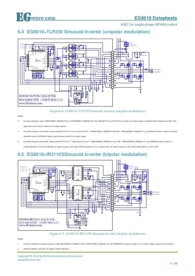 EGmicro EG8010 Datasheet