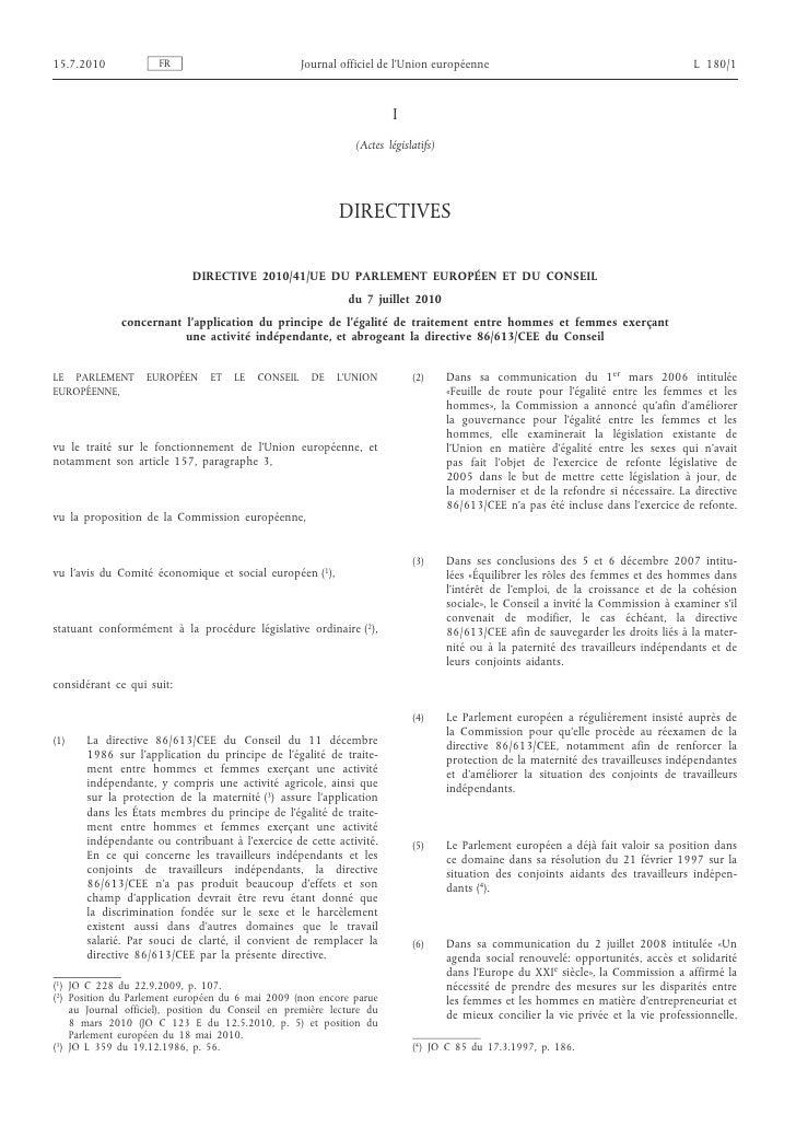 15.7.2010             FR                            Journal officiel de l'Union européenne                                ...