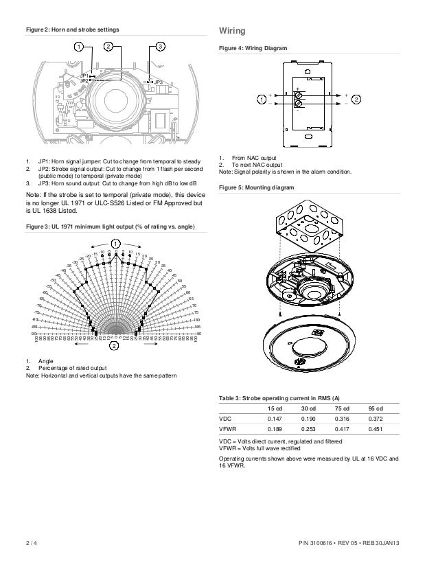 Edwards Signaling EGCF-HDVM Installation Manual