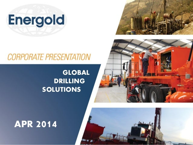 APR 2014 GLOBAL DRILLING SOLUTIONS