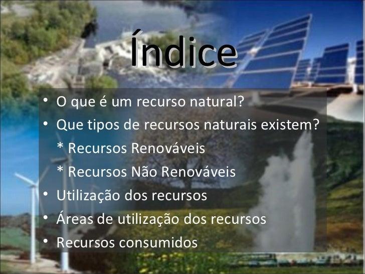 Gestão Sustentável dos Recursos Slide 2