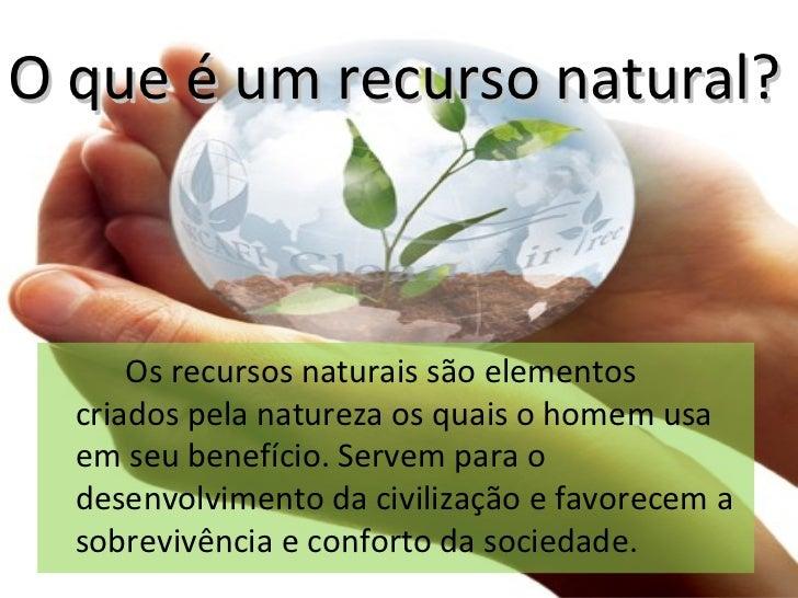 Gestão Sustentável dos Recursos Slide 3