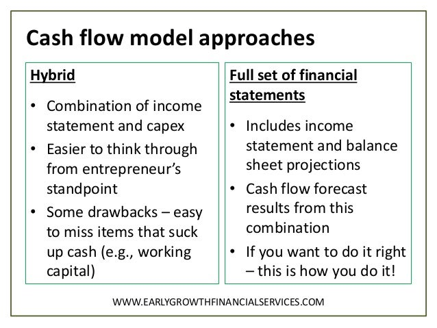 simple cash flow model