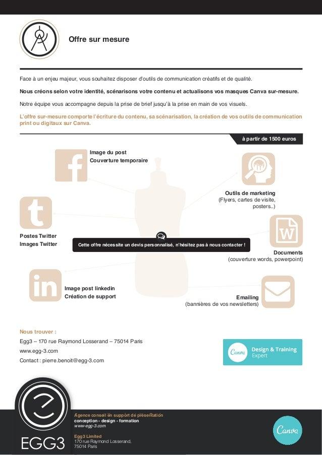 Egg3 Limited 170 rue Raymond Losserand, 75014 Paris Agence conseil en présentation Prezi conception - design - formation w...