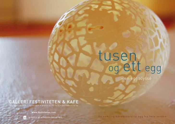 tusen                                                                               og ett egg                            ...