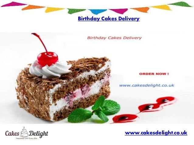 Birthday Cakes Delivery Cakesdelightcouk