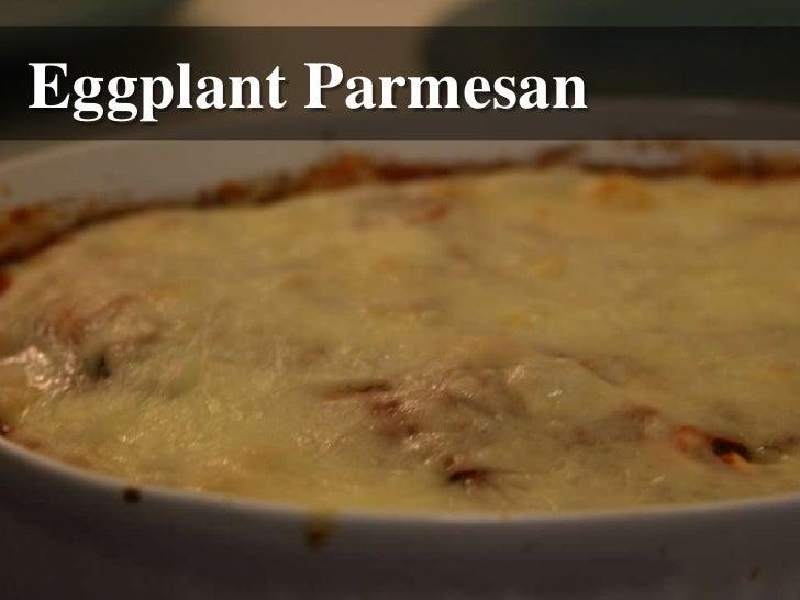 Eggplant Parmesan<br />