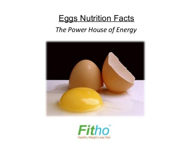 Eggs Nutrition FactsThe Power House of Energy