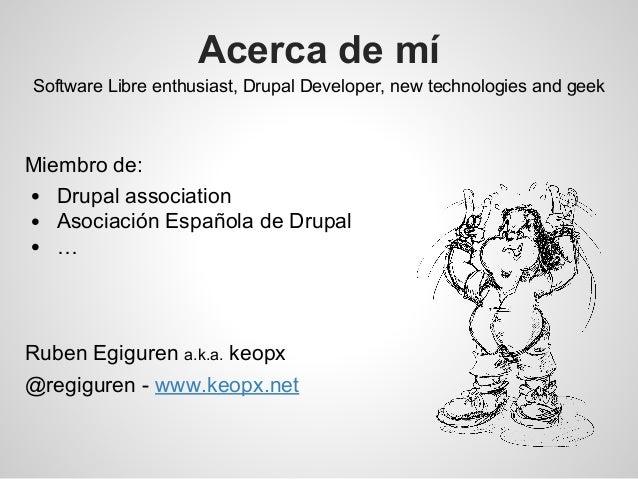 e-Ghost 2014: introducción al desarrollo de módulos en drupal 7 Slide 2