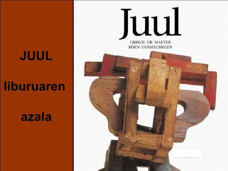 JUUL liburuaren  azala