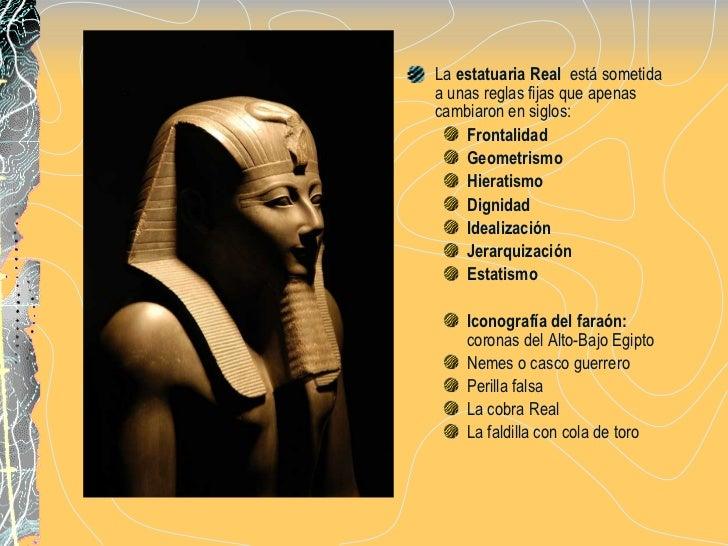 Arte Egipcio Escultura y Pintura Slide 3