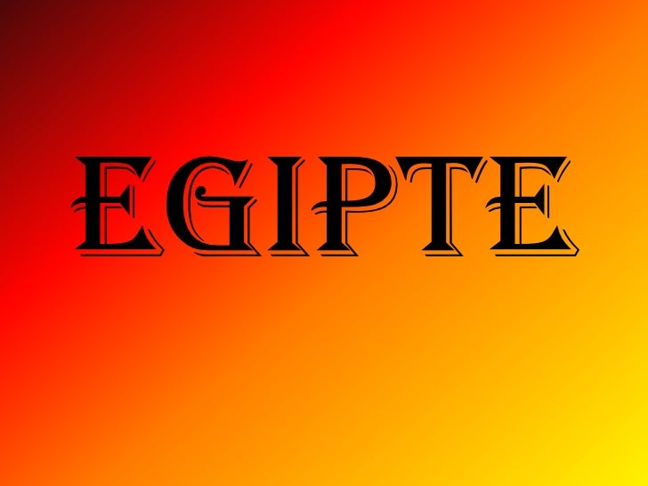 EGIPTE<br />