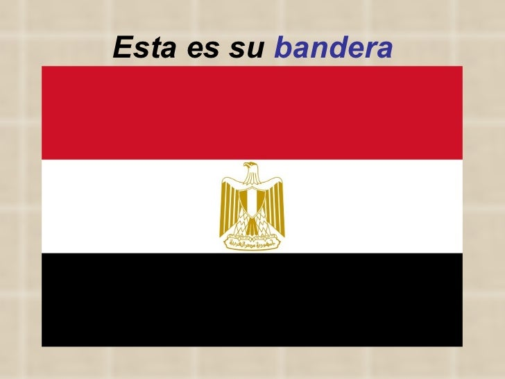 Esta es su  bandera