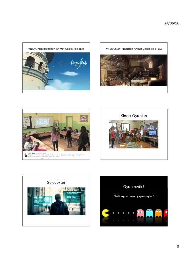 24/06/16 9 VR Oyunları: Hezarfen Ahmet Çelebi ile STEM VR Oyunları: Hezarfen Ahmet Çelebi ile STEM Kinect Oyunları Kinec...