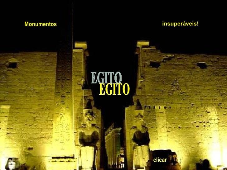 EGITO Monumentos insuperáveis!   clicar