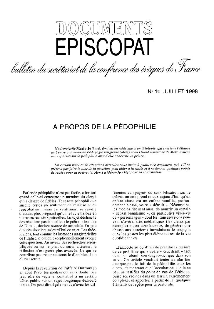 Documents episcopat