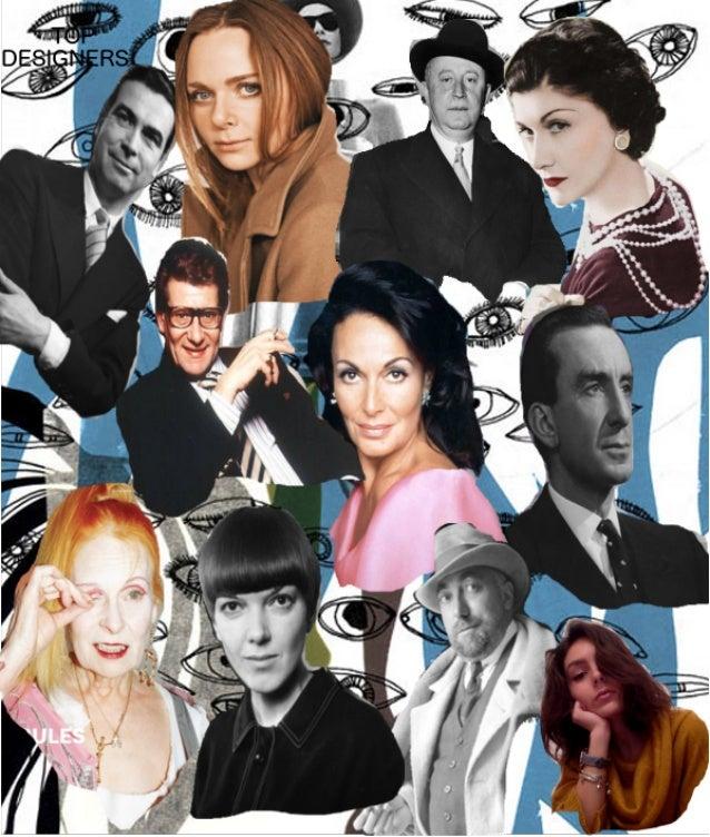 "Colaj ""Top Fashion Designers""-Piera Cuzman"