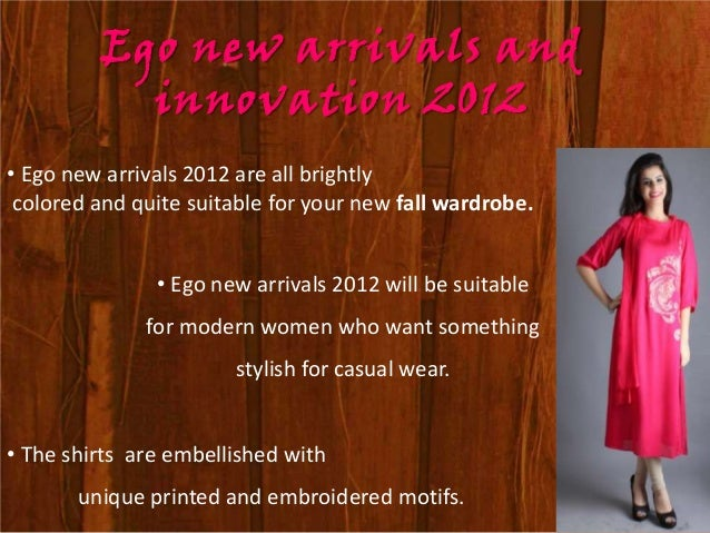 Ego Presents Work wear dresses                    For Ladies • This time Ego has brought its latest Work wear dresses for ...