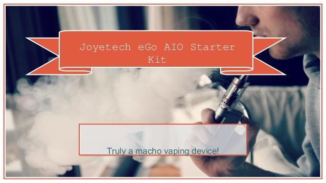 Joyetech eGo AIO Starter Kit Truly a macho vaping device!
