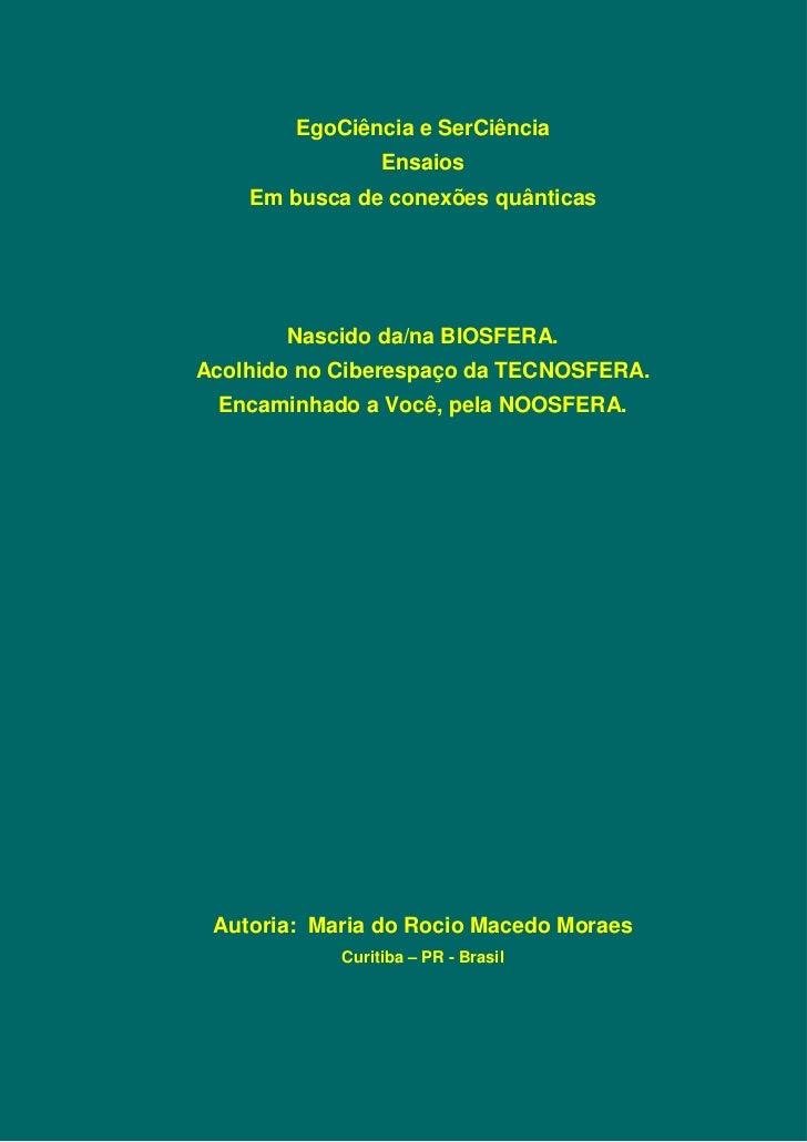 Egociencia  - Livro 02 / 02