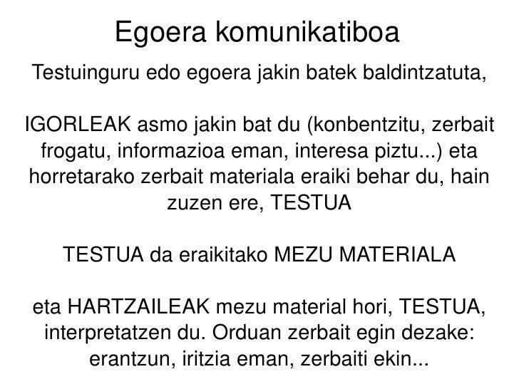 Egoera Komunikatiboa Slide 2