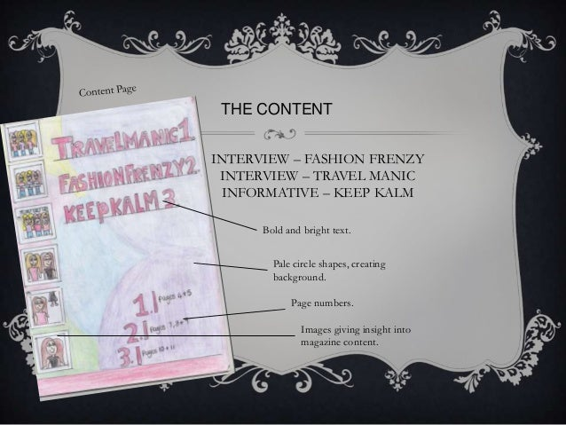 THE CONTENT INTERVIEW – FASHION FRENZY INTERVIEW – TRAVEL MANIC INFORMATIVE – KEEP KALM Bold and bright text. Pale circle ...