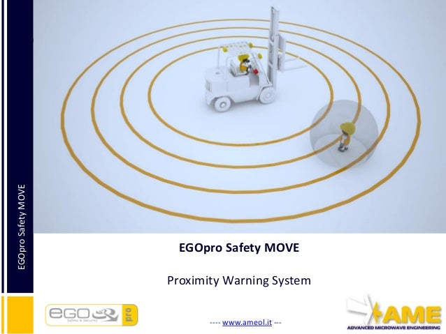 Egopro Safety Move Proximity Warning Amp Alert System
